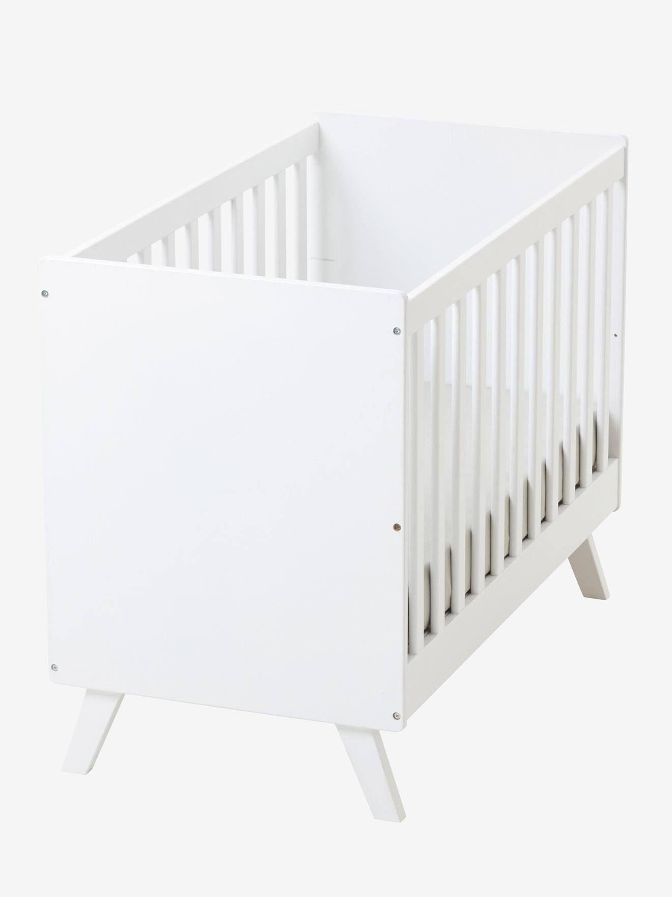 Vertbaudet Babybett Madison In Weiss Lit Bebe Lit Transformable Lit Bebe Sans Barreau