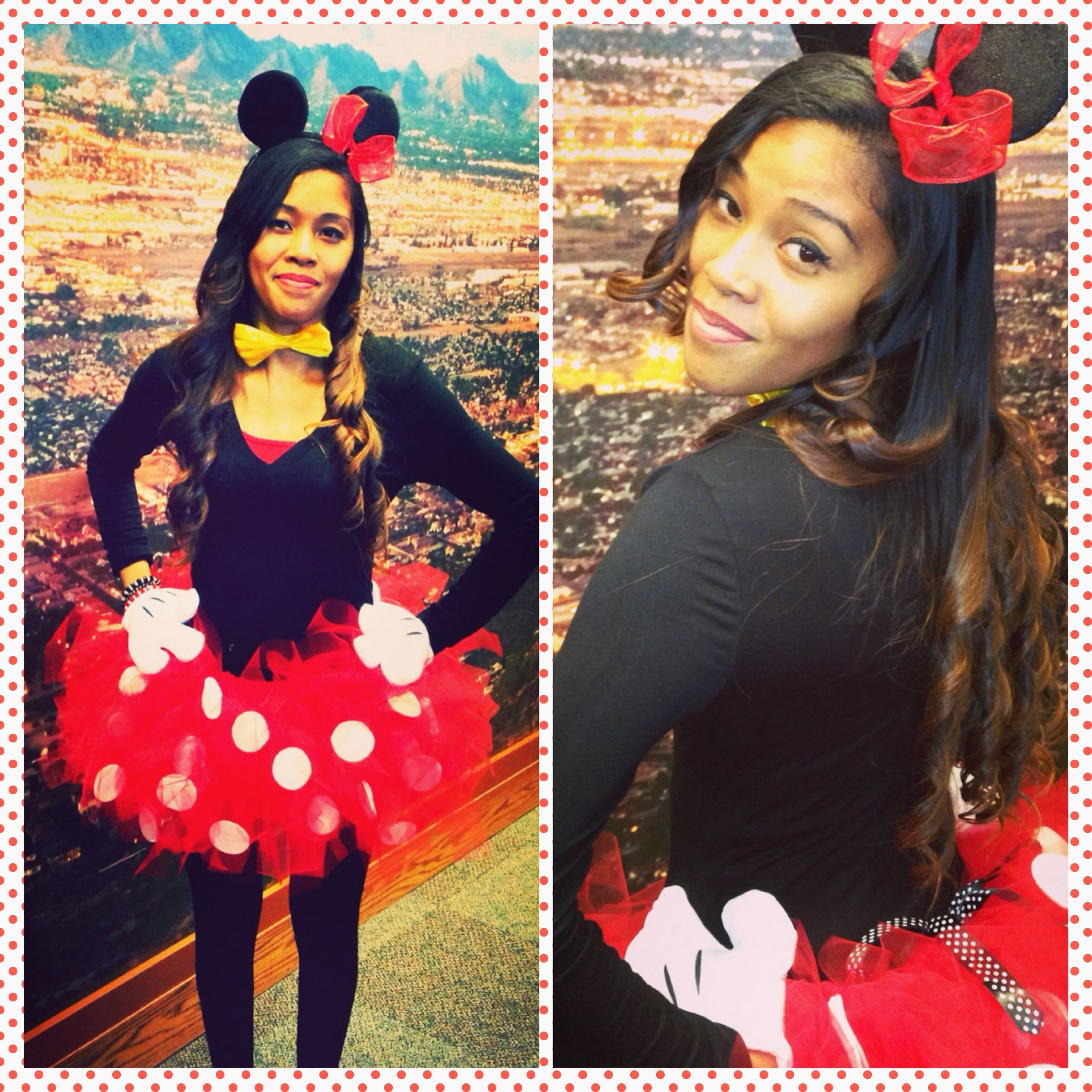 Minnie Mouse costume diy.  sc 1 st  Pinterest : minnie mouse homemade costume ideas  - Germanpascual.Com