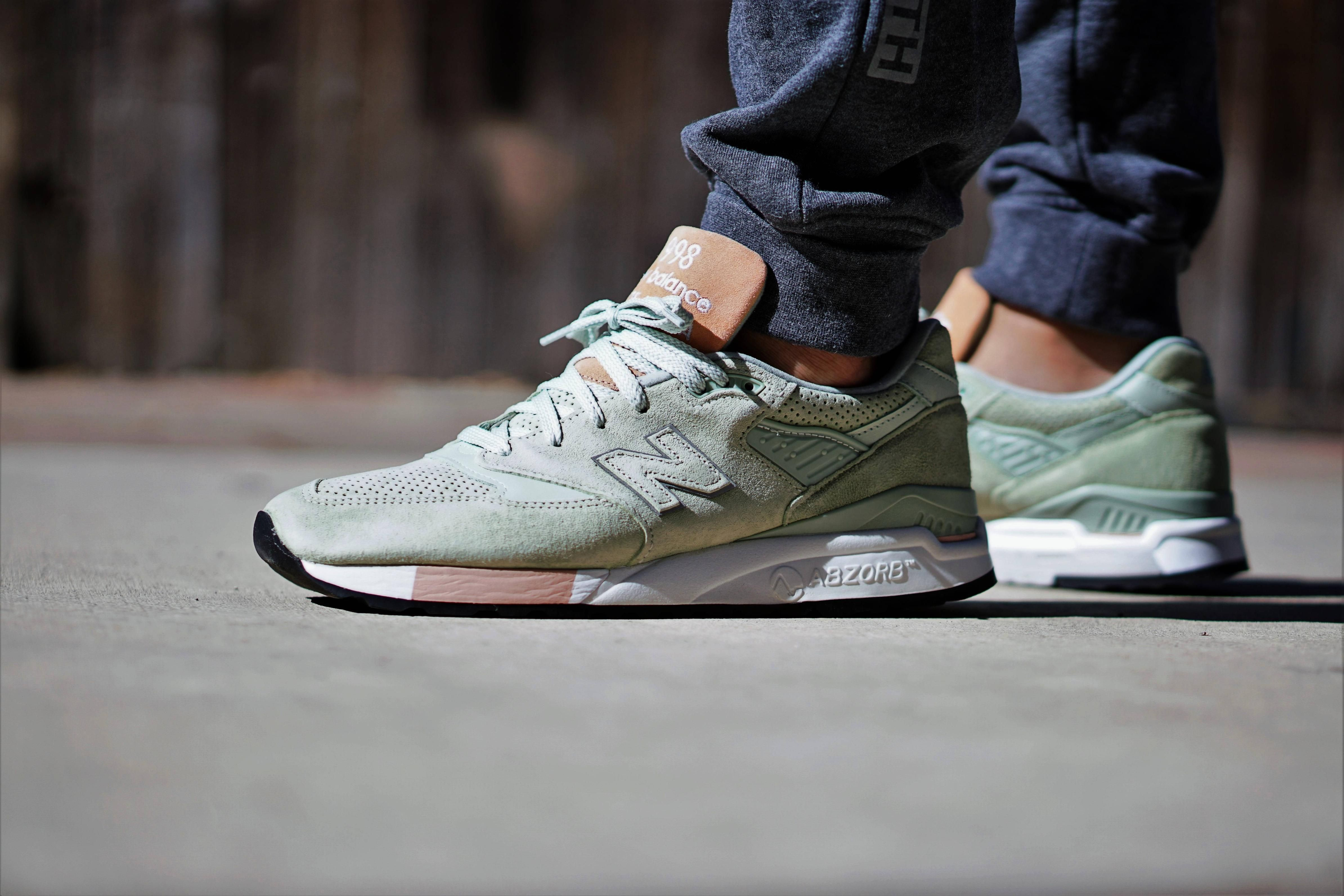 low priced 5d076 af341 Concepts x New Balance 998 Tannery / Mint | Sneakers