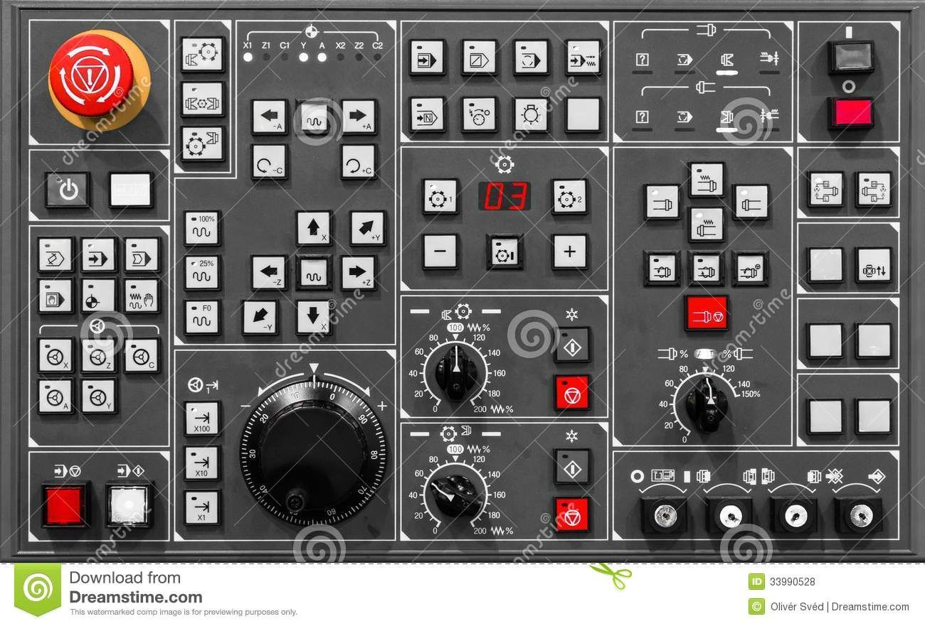 Control Panel Texture Royalty Free Stock Photos Image
