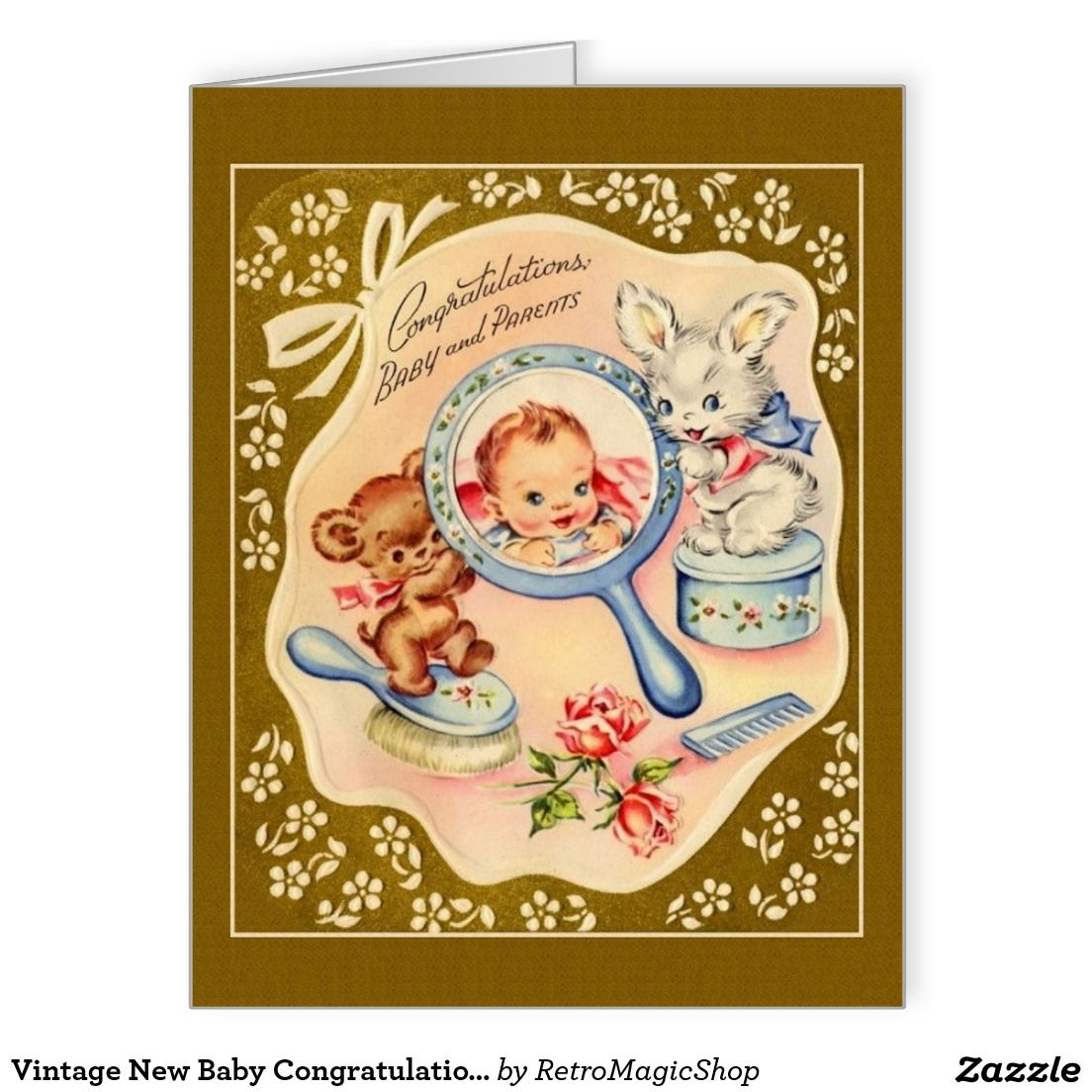 Your Custom Big Greeting Card Cards Zazzle Pinterest Baby