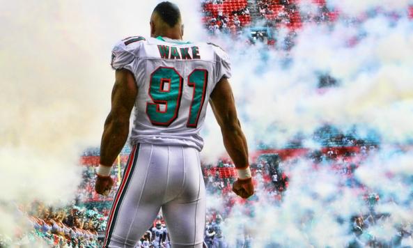 wholesale dealer 9823c d19a9 Cameron Wake#91 Miami Dolphins | GetThe PumpFitness Clients ...
