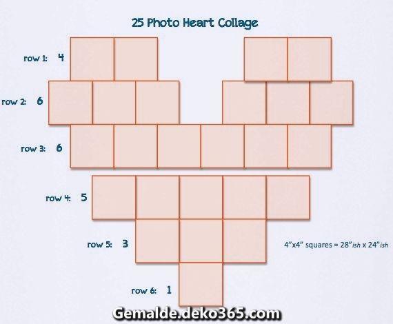 Photo of Lussuoso collage di cuori – Non ho visto una semplice prova dopo una breve ricerca … – Il mio blog