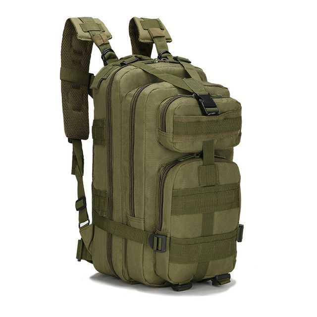 Army Style Tactical Backpack. Waterproof Oxford Mountaineering Bags  Military Fan ... d6830aa871ad2