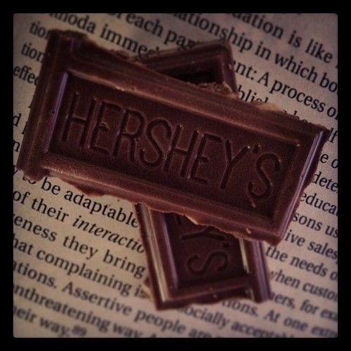 Brain food! I ♥ chocolate stuff!
