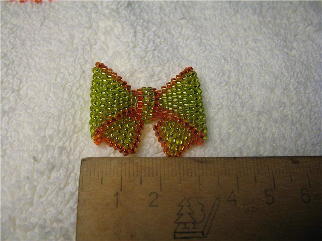 French bow | biser.info - all about beads and beaded works