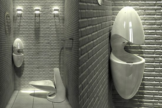 The Toilet That Transforms Into an Urinal | //www.facebook.com ... on home bathroom, home sauna, home shower, home window, home toilet,