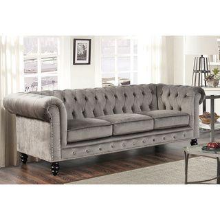 Online Shopping Bedding Furniture Electronics Jewelry Clothing More Grey Velvet Sofa Living Room Sofa Velvet Chesterfield Sofa