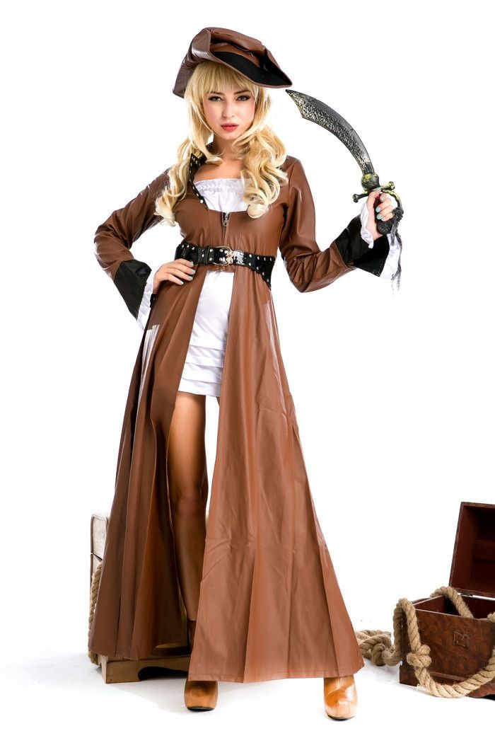Plus Size Pirate Halloween Costume LAVELIQ halloween/ fall - halloween costume ideas plus size