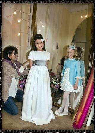 Vestido primera comunion princesa leonor