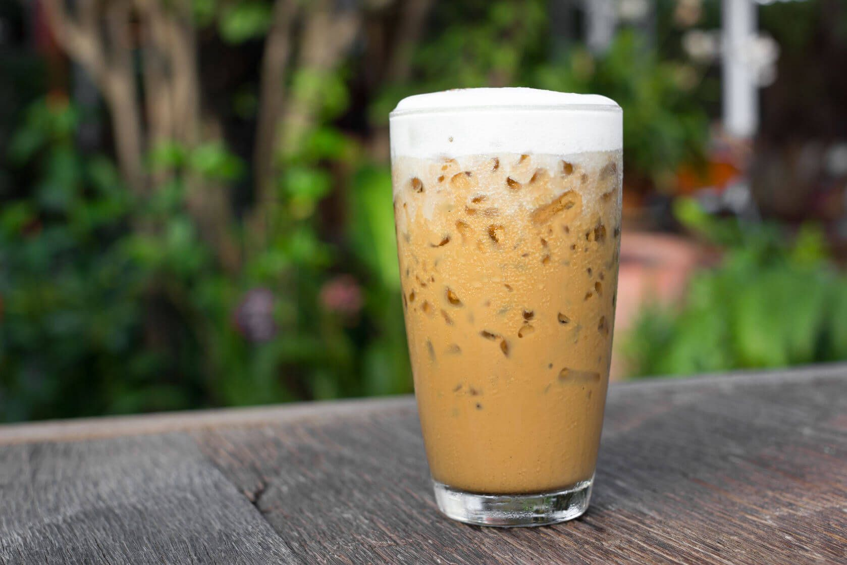 The Paleo Mocha Frappe made with cold brew coffee is great if you're on a health binge and you want to make some changes to your diet.