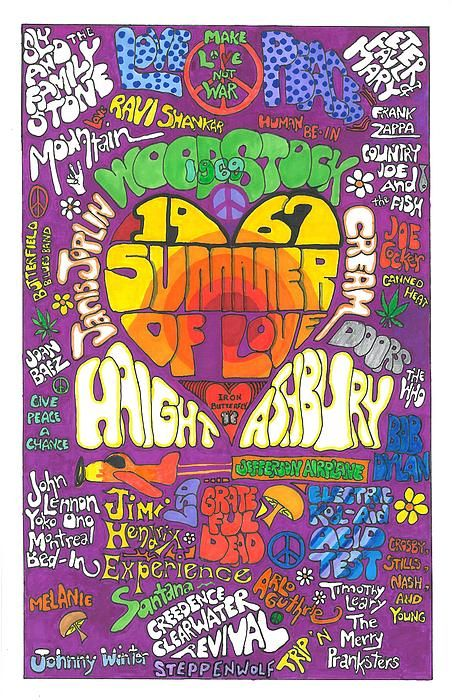 ☯☮ॐ American Hippie Psychedelic 60's & 70's Quotes Summer of Love ~ 1967