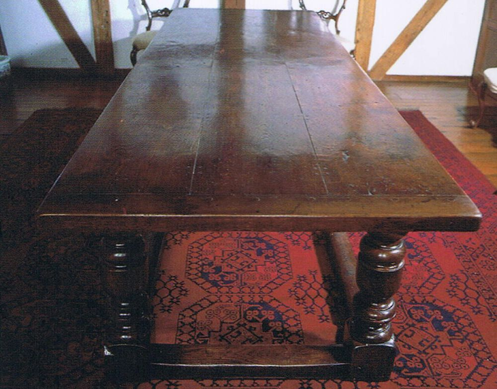 Aged Oak Dining Table The West Sussex Antique Timber Company