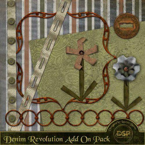 Denim Revolution Add on Pack [DL-LB-AOP-DenimRevolution]