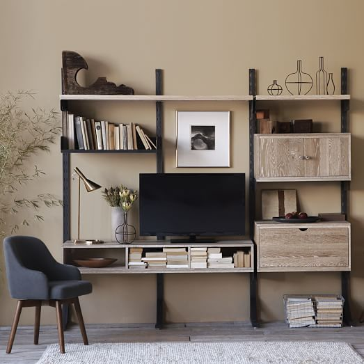 Design Work Modular Wall Storage System Made In The Usa Westelm