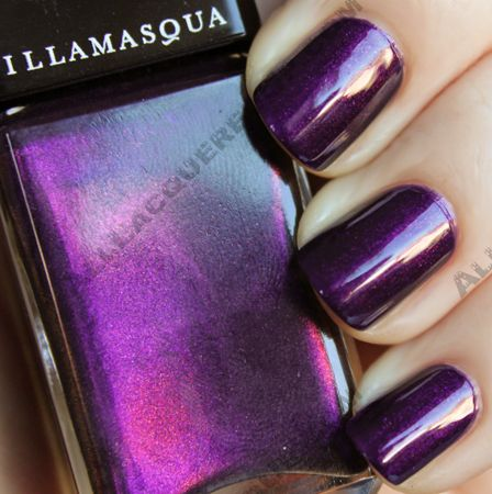 Illamasqua Boo Pantomime Nail Duo Swatches And Review