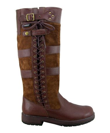 Love This Brown Ash Waterproof Wide Calf Leather Boot By Kanyon Outdoor On Zulily Zulilyfinds Waterproof Leather Boots Boots Wide Calf Leather Boots