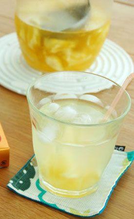 白皮が美味しい スッキリ爽やか 日向夏レモネード の作り方 ドリンクレシピ 夏 お菓子 日向夏