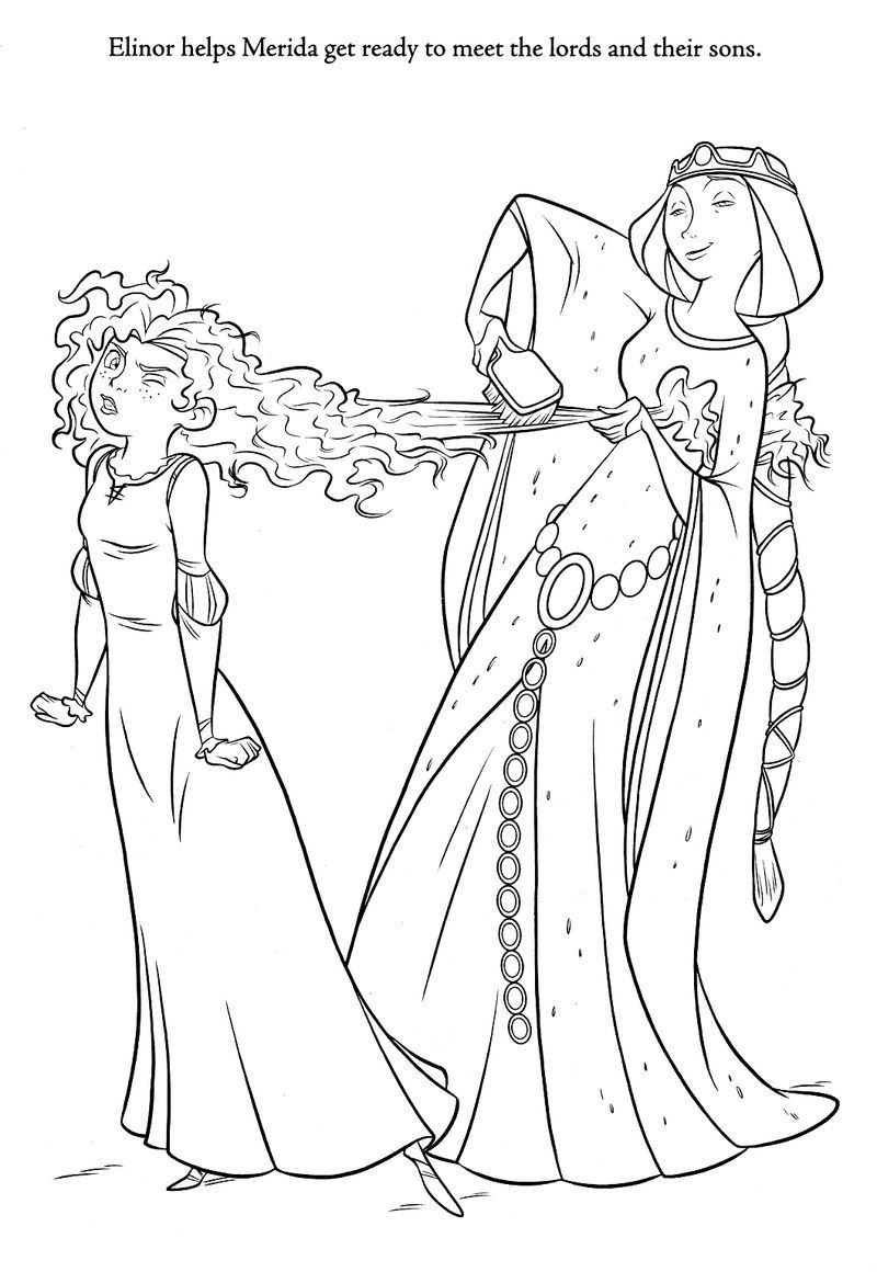 Brave Coloring Pages Bow Arrow And Target
