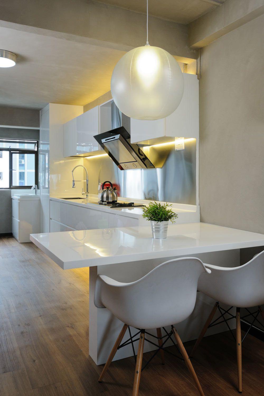Living Room Design Hdb Flat: 23 Pretty Outstanding HDB Designs