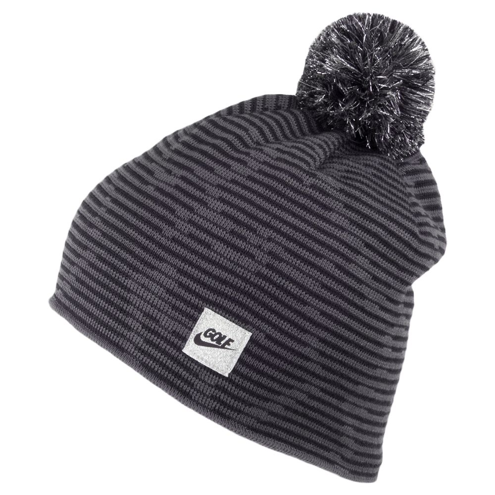 02d314037 Nike Golf Hats Camoanimal Knit Bobble Hat - Grey-Black | B04 ...