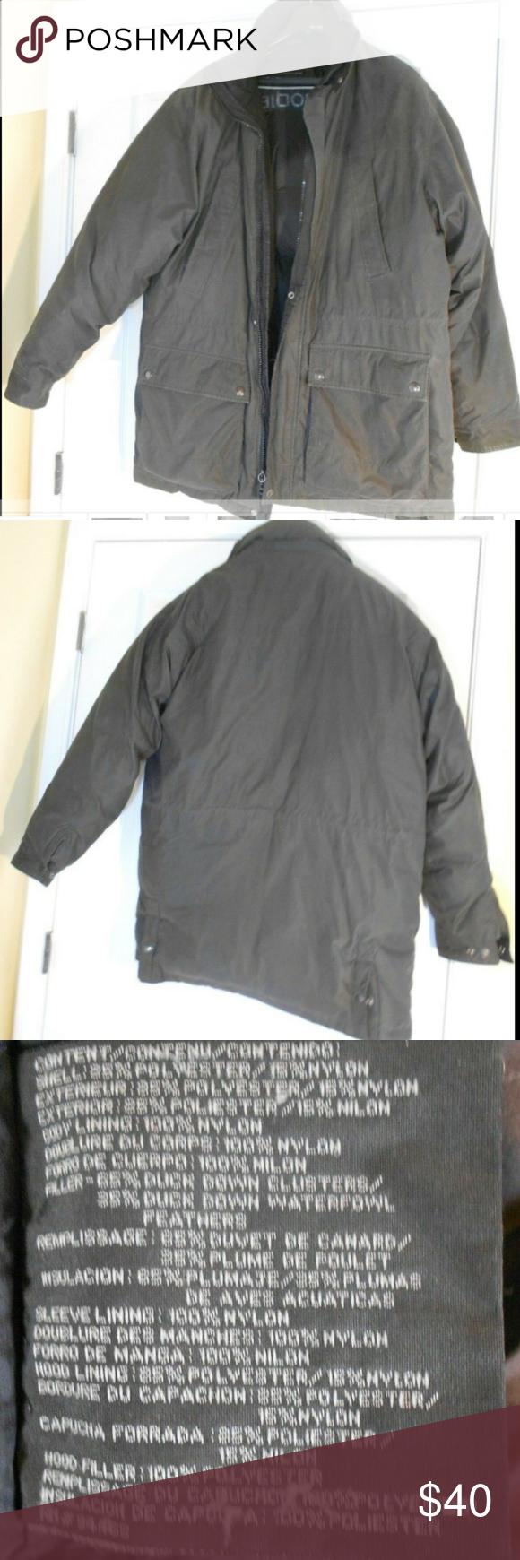 Mens Claiborne Outerwear Down Filled Jacket Coat L Mens Claiborne Outerwear Down Filled Jacket Coat Size Large G Long Sleeve Tshirt Men Long Parka Zipper Parka [ 1740 x 580 Pixel ]