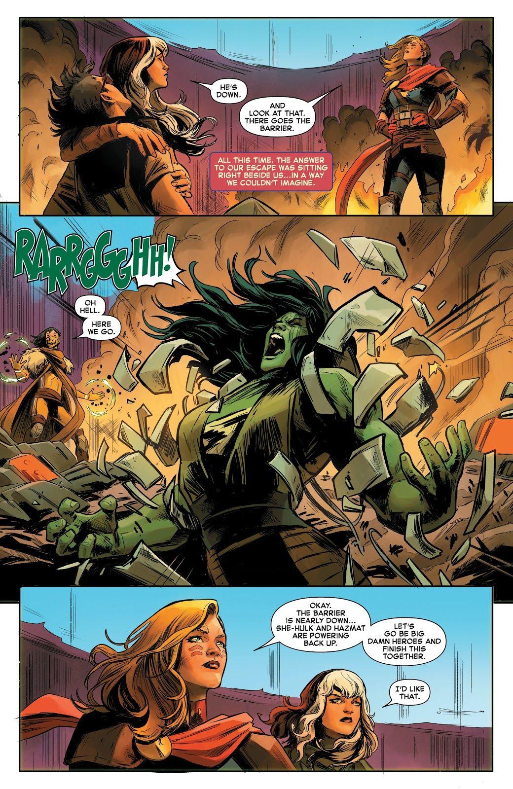 captain marvel (2019) issue #5 - read captain marvel (2019