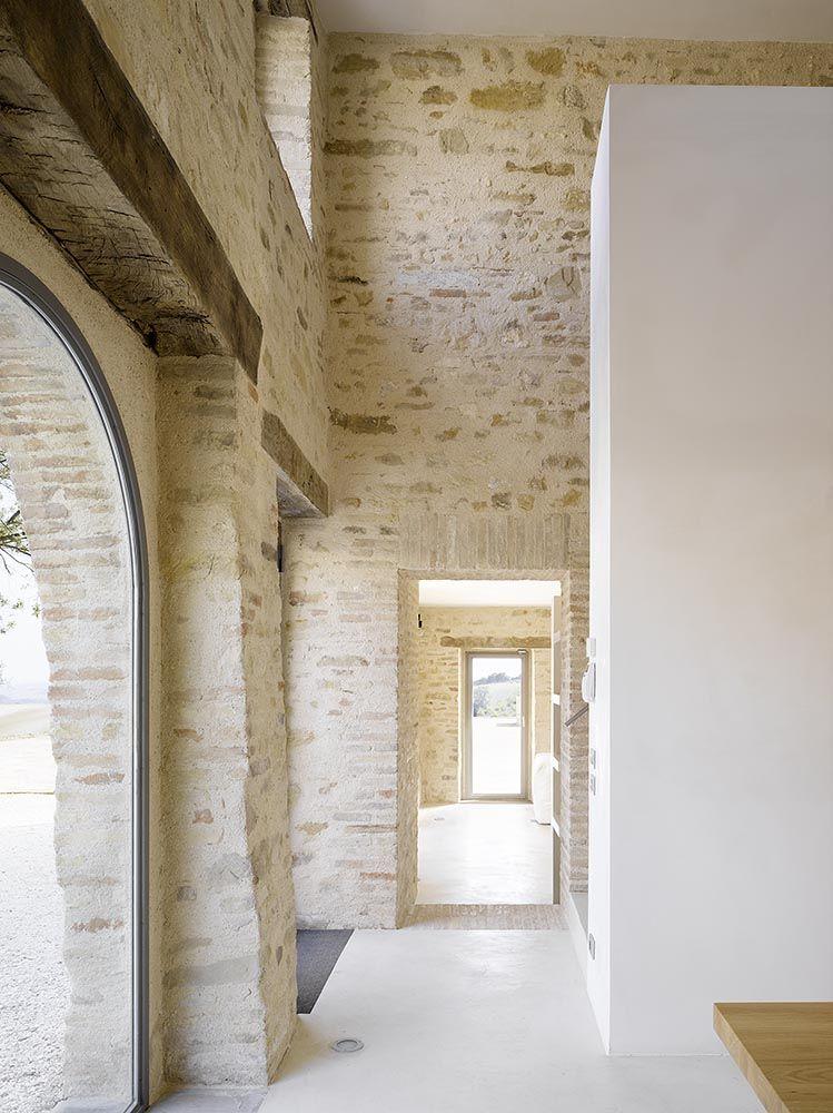 Casa Olivi By Markus Wespi And Jerome De Meuron Wespi De Meuron Italienisches Bauernhaus Innenarchitekt