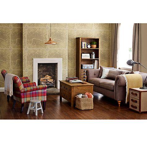 Buy John Lewis Joshua Large Sofa, Fabrizio in Putty Online at ...