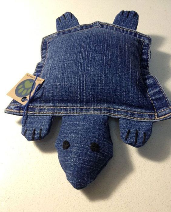 74 Awesome DIY ideas to recycle old jeans