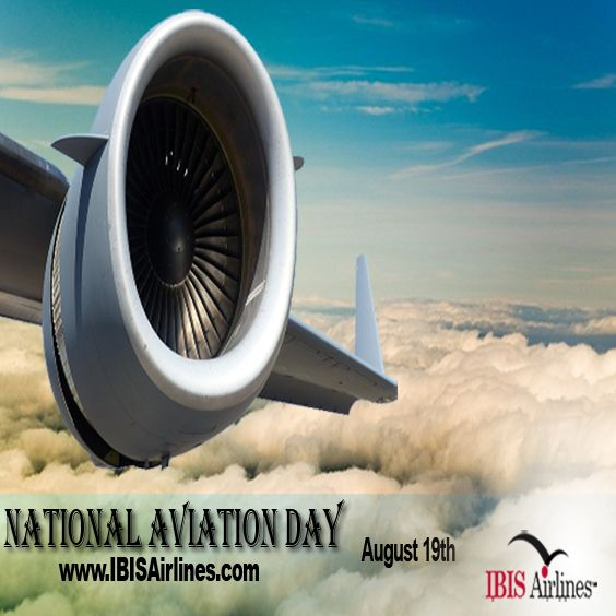 Thanks to the Wright Brothers flying a plane is no different than riding a bike...it's just a lot harder to put baseball cards in the spokes. Happy #NationalAviationDay! #IBISAirlines http://www.IBISAirlines.com
