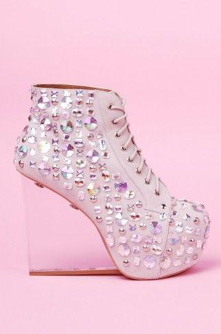 032e4580 Jeffrey Campbell Dina Jewel   Jeffrey Campbell Shoes   ShopAKIRA.com @Jeffrey  Campbell #shoeaddict #bejeweled #embellished