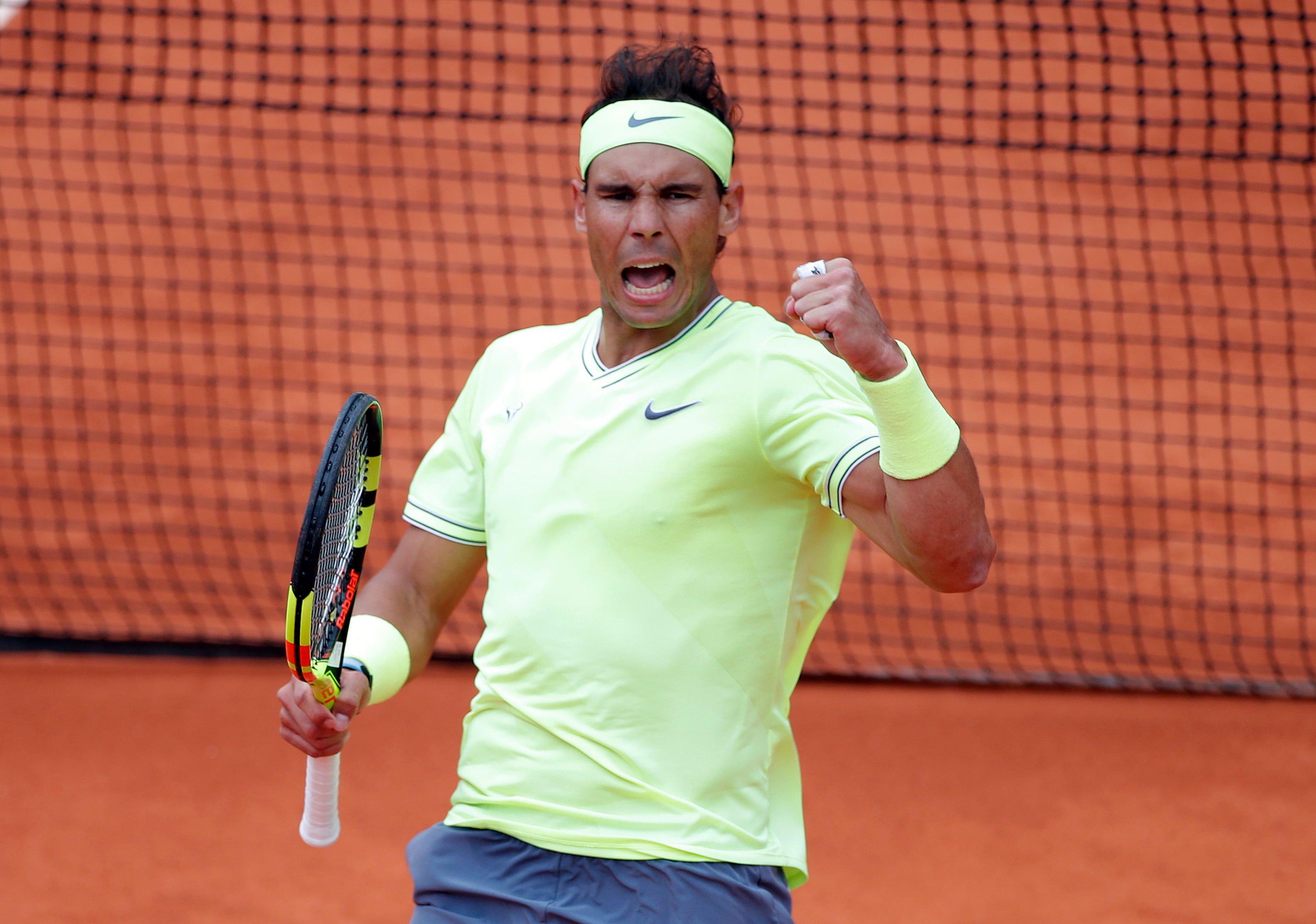 Tennis Rafael Nadal Spanish 2k Wallpaper Hdwallpaper Desktop In 2020 Roger Federer Rafael Nadal French Open