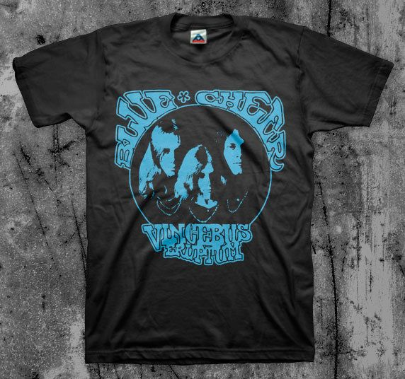 ccfc3345551 Blue Cheer  Vincebus  T shirt (Iron Butterfly Black Sabbath Blue Oyster Cult)   Alstyle  ShortSleeve