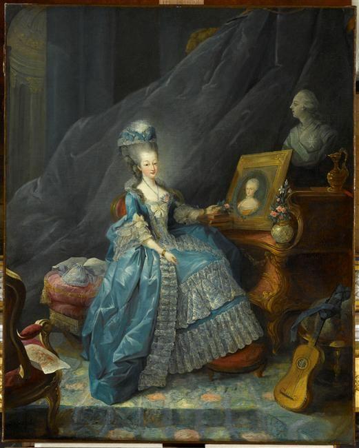 Jean-Baptiste-André Gautier d'Agoty, Marie-Antoinette, reine de ...