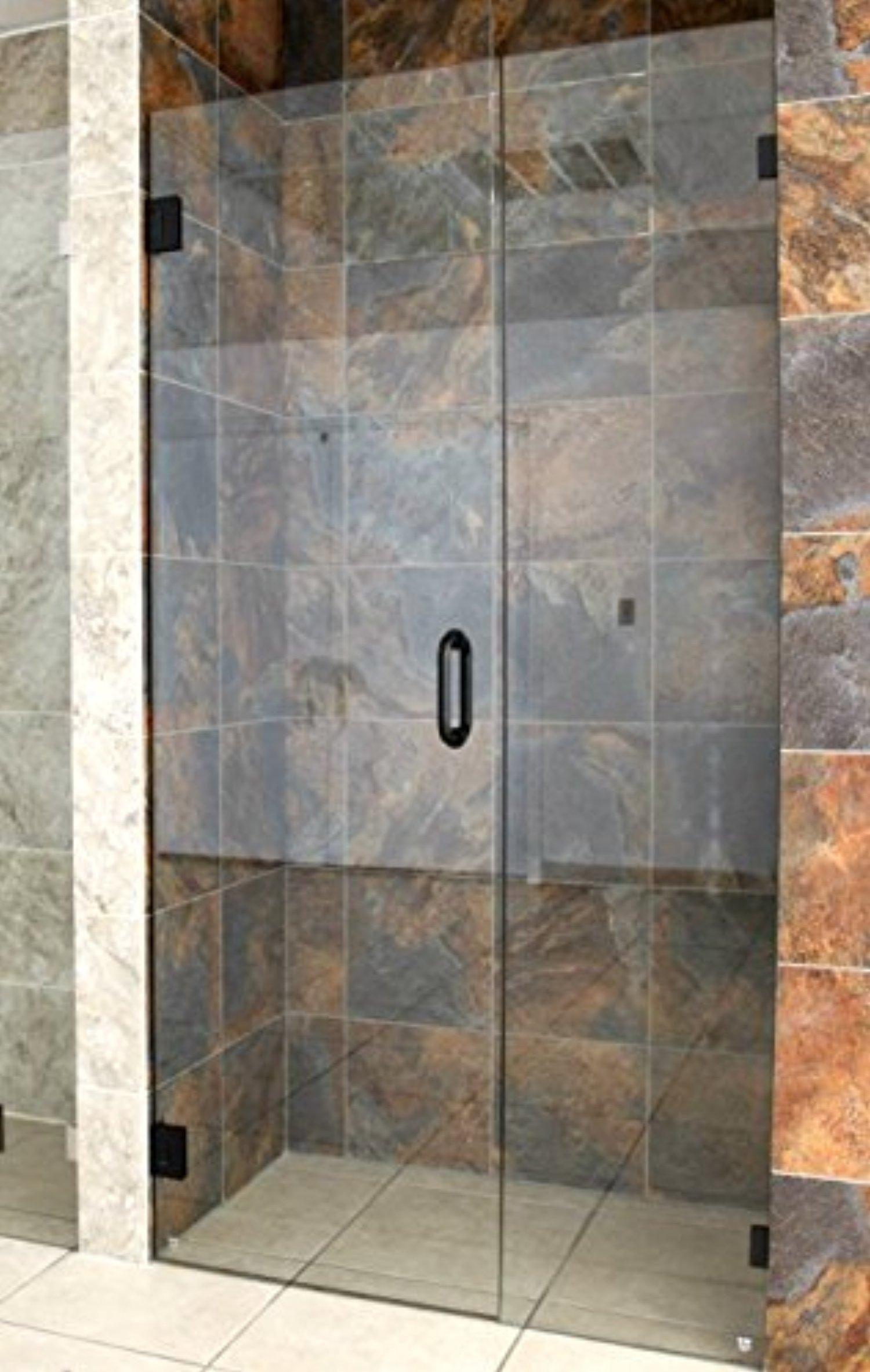 Glass Warehouse 78 X 31 5 Frameless Hinged Shower Door Door Only
