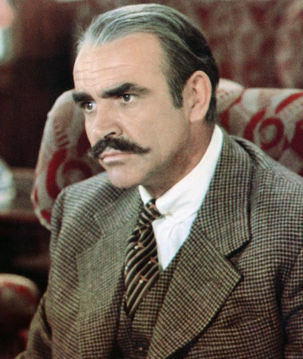 Movie Mustaches | Sean connery, Sean connery movies, Best classic movies
