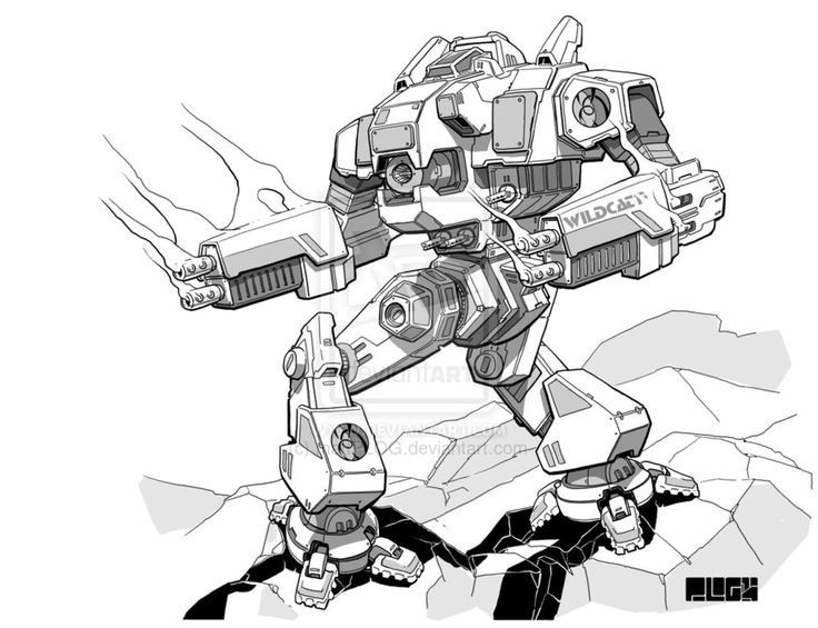 pin by matthew stump on mechwarrior coloring robot robot concept Futuristic Wallpaper recent battletech themed mission digital inking over pencil sketch