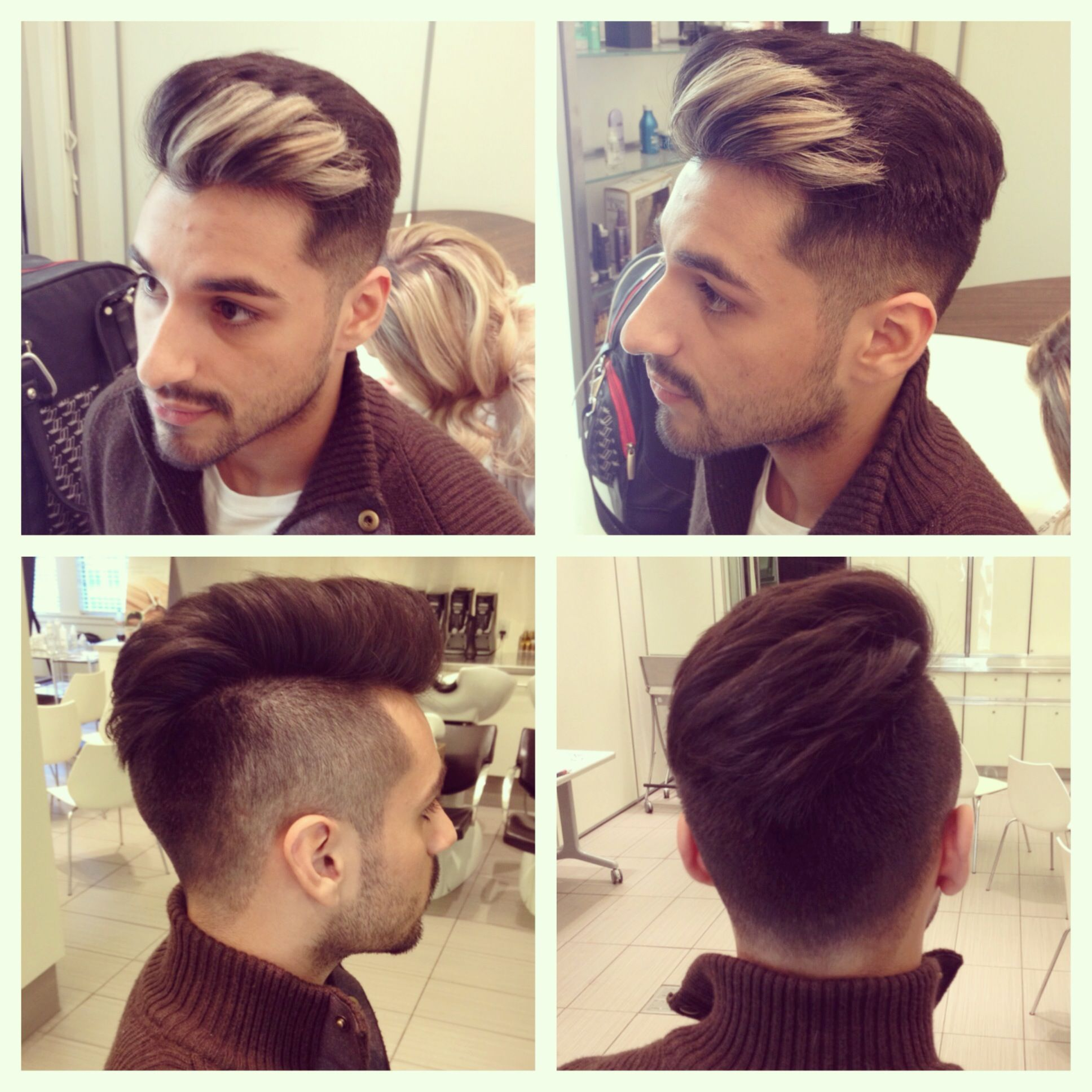 Hair color trends and ideas for men - Color Done By Catherine And Cut By Aimee Men S Style Hair Cut Cool Hair Funky Hair Latest Hair Trend Blow Dry Hair Stylist Hair Color Color Trends