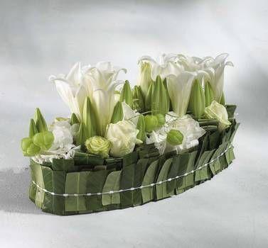 d coration florale de table centre de table fleur pinterest d corations florales table. Black Bedroom Furniture Sets. Home Design Ideas
