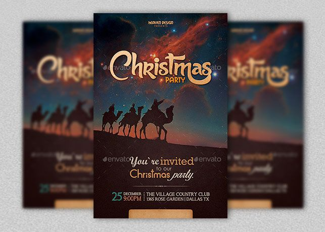 Christmas Party Invitation Card was designed by Heaven Design and - club card design