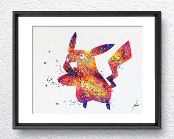 Contemporary Designs and Watercolors Illustrations.  Print comes UNSIGNED. Please let us know if you would like it signed.  Archival Print on: