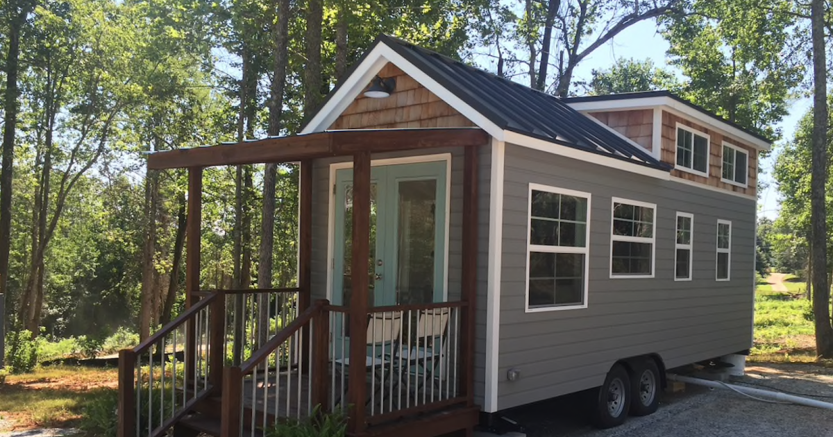A Tiny House Available For Rent On Airbnb Just 5 Minutes