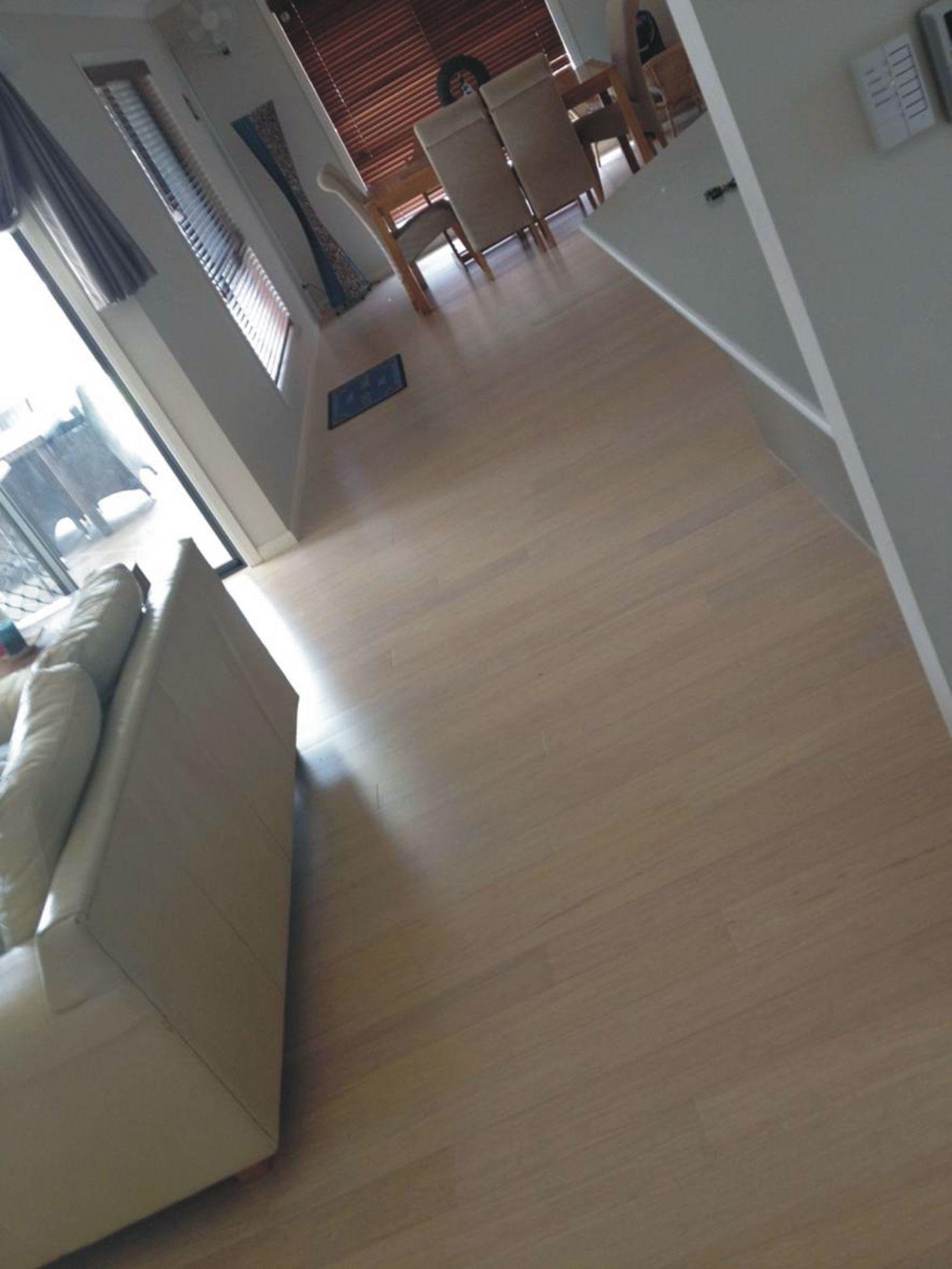Naturally Bamboo Flooring White