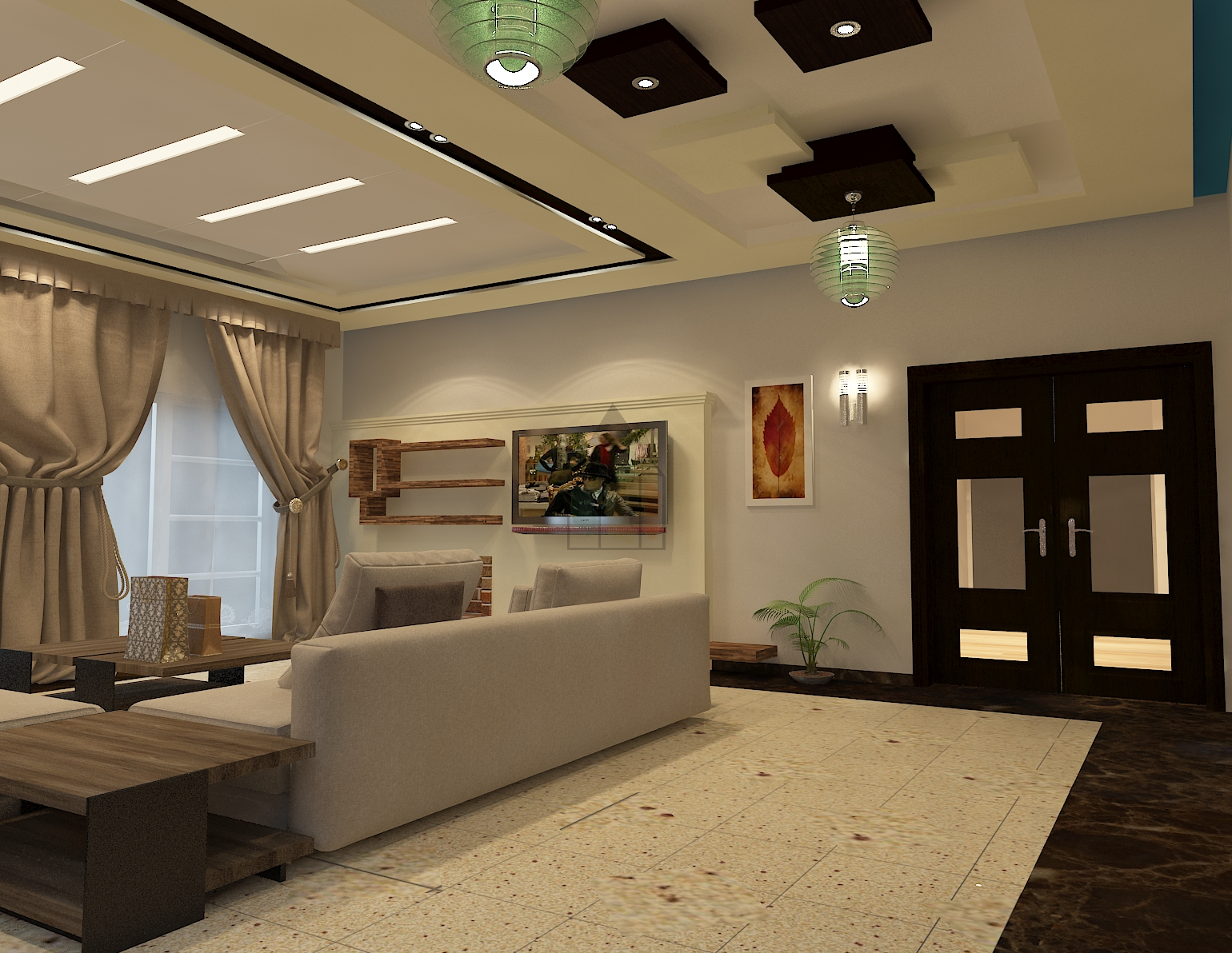 TV Lounge Designs In Pakistan From Many Other TV Lounge Designs On This  Website. This Pakistani Style TV Lounge Has Open Space And Yet All The  Doors Are Not ...