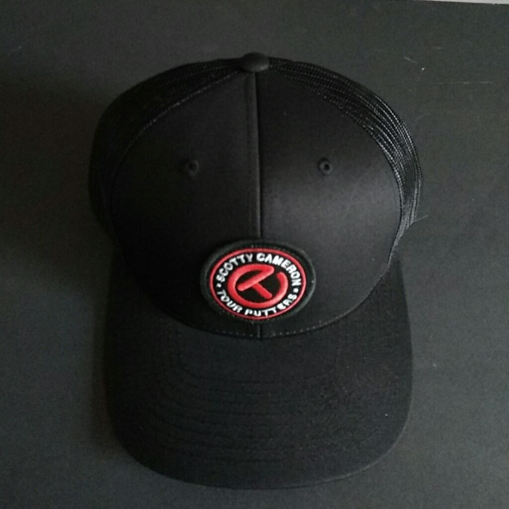 Scotty Cameron Custom Shop Gallery Limited Circle T Patch Black Red  Adjustable Golf Hat I would also like to suggest that you follow us because  most of the ... 5f0155dc377