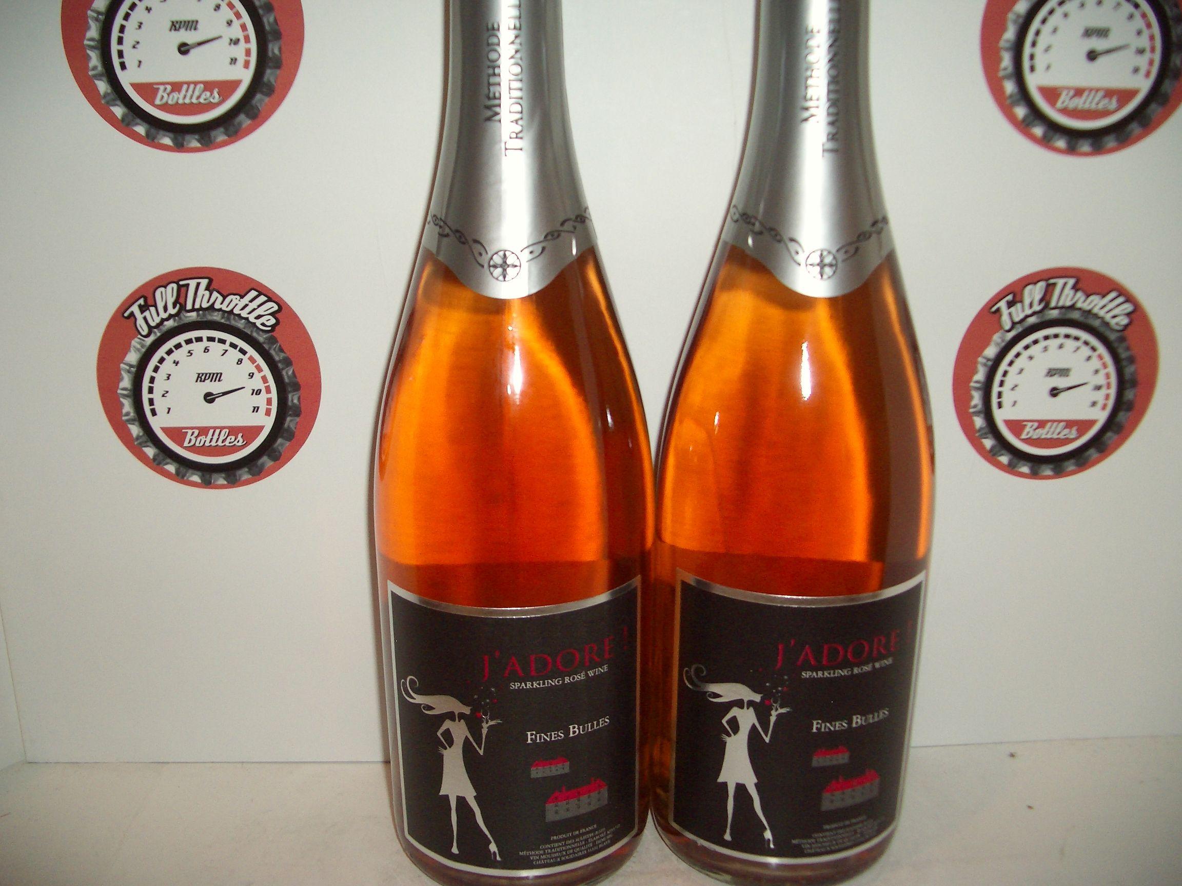 J Adore Sparkling Rose Wine Wine Bottle Champagne Bottle Rose Wine
