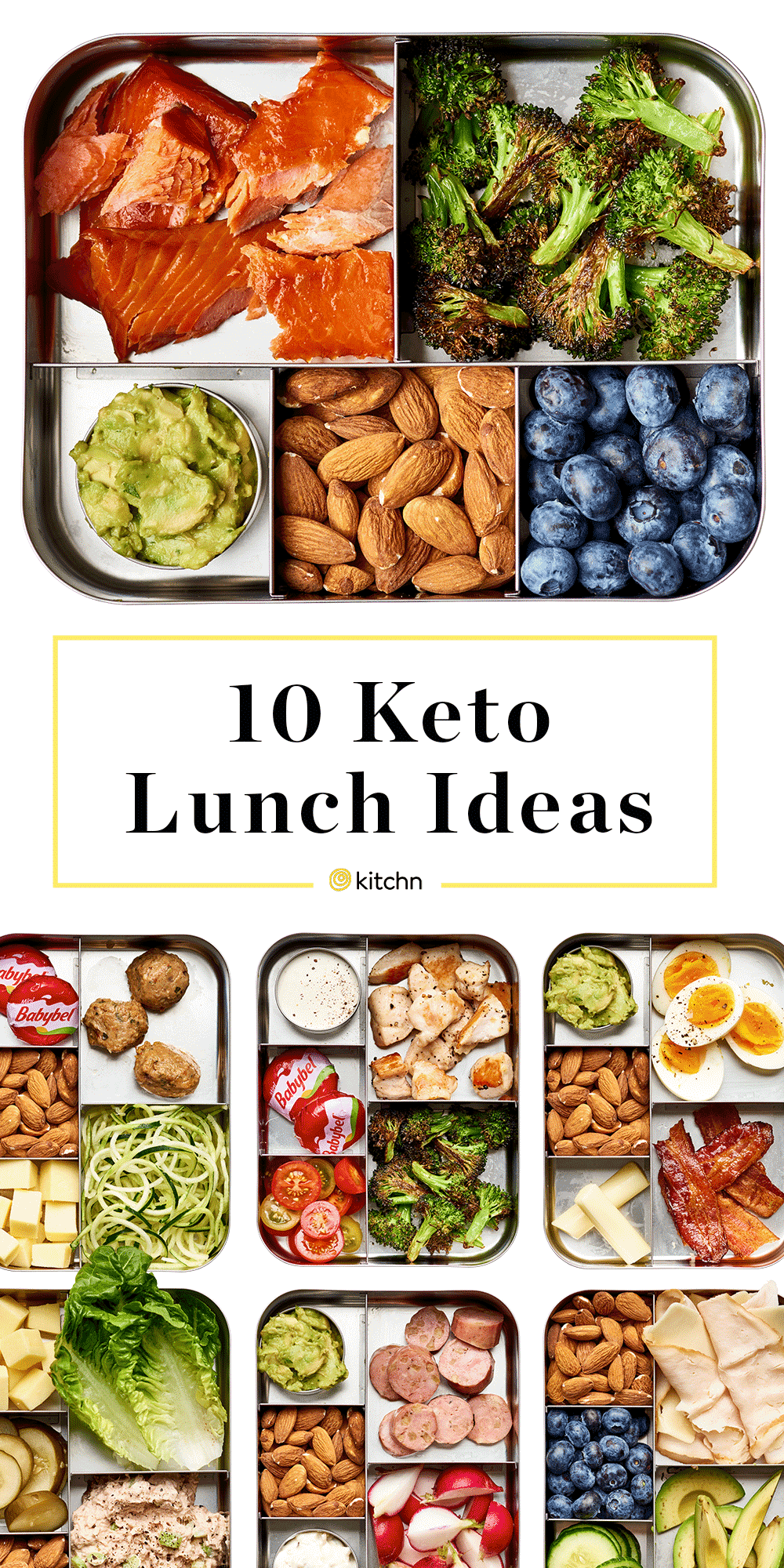 10 Easy Keto Lunch Box Ideas #lowcarbmeals
