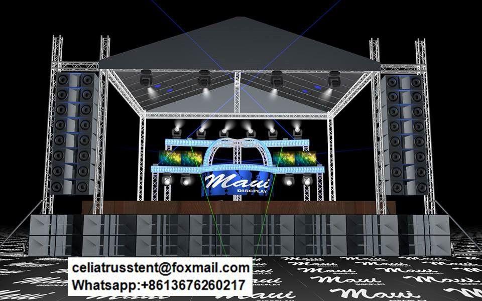 ground support truss roof truss design tent truss system