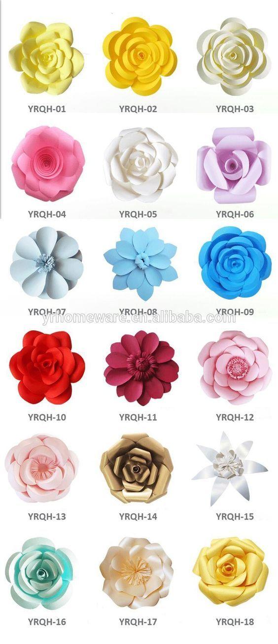 ideas-flores-papel-gigantes-diy (21 | flores | Pinterest | Hacer ...